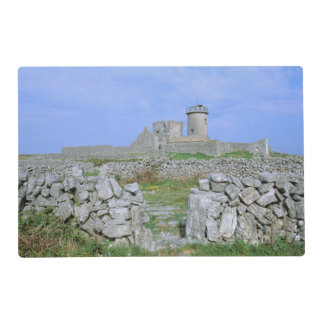 Irland, Inishmore, Aran Insel, Dun Aengus Fort Laminiertes Tischset