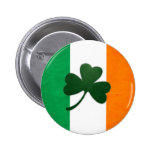 Irland-Kleeblatt-Knopf Buttons