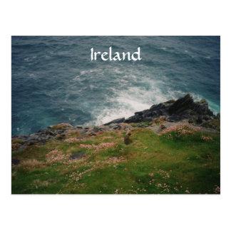 Irland-Küste Postkarte