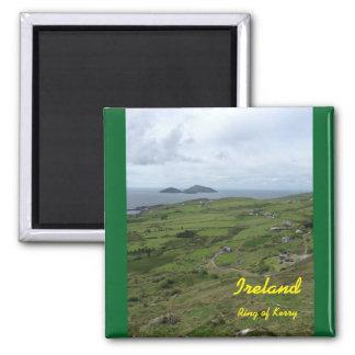 Irland-Ring des Kerry-Iren-Magneten Quadratischer Magnet