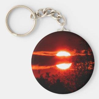 Irland-Sonnenaufgang Schlüsselanhänger