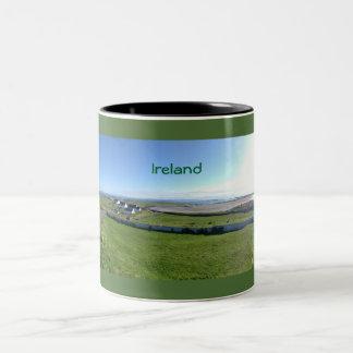 Irland-Tasse Zweifarbige Tasse