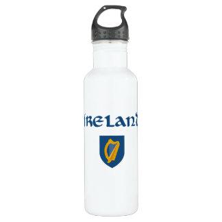 Irland + Wappen Edelstahlflasche