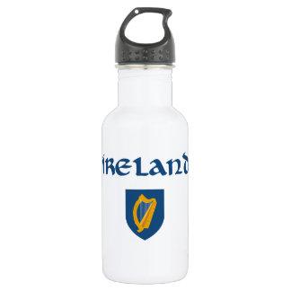 Irland + Wappen Trinkflasche