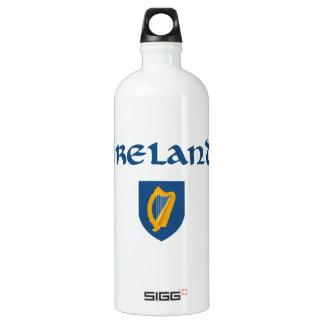 Irland + Wappen Wasserflasche
