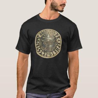 Irminsul mit Futhark T-Shirt