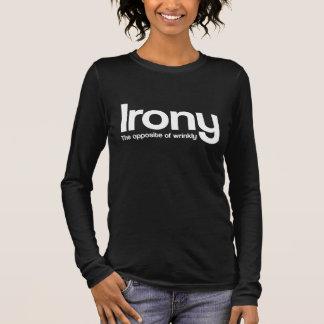 Ironie Langarm T-Shirt