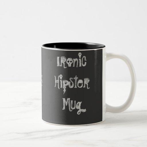 Ironische Hipster-Tasse 2