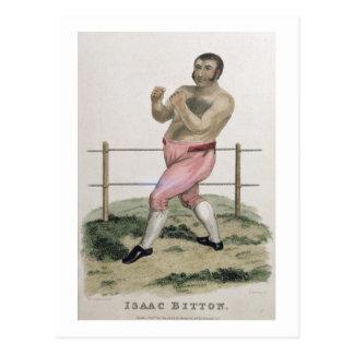Isaac Bitton, graviert von P. Roberts, Postkarte