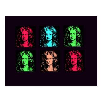 Isaac- Newtoncollage Postkarte