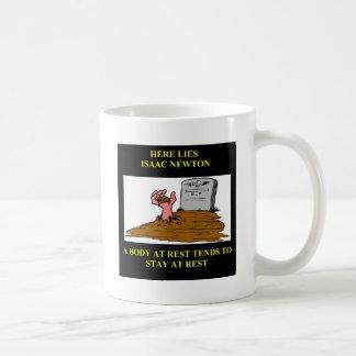 Isaac- Newtonwitz Kaffeetasse