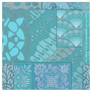 Isabella-blaues großes stoff