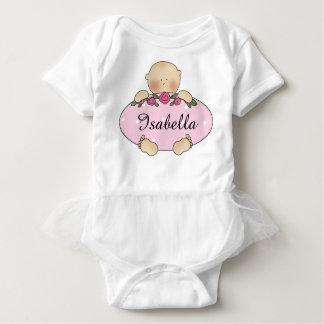 Isabella personalisierte Baby-Geschenke Baby Strampler