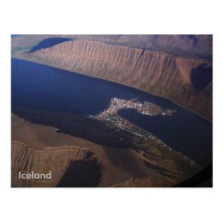 Ísafjörður, Island Postkarte