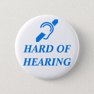 ISD stark der Anhörung, blau auf Weiß Runder Button 5,1 Cm