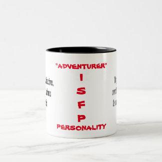 ISFP Persönlichkeits-Tasse Zweifarbige Tasse