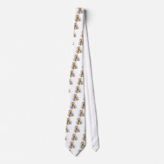 ising Weiß Bedruckte Krawatte