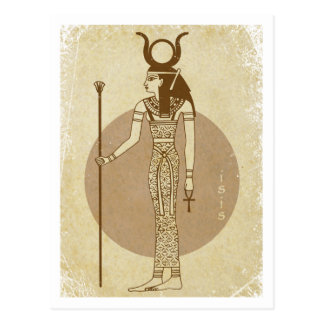 Isis-Postkarte