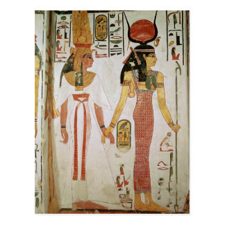 Isis und Nefertari Postkarte