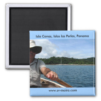 Isla Canas, Islas las Perlas, Panama Quadratischer Magnet