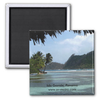Isla groß, Panama Quadratischer Magnet
