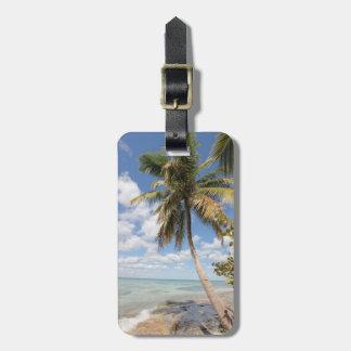 Isla Saona - Palme am Strand Adress Schild