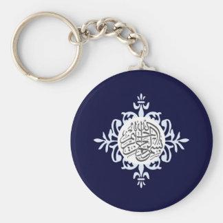 Islam Bismillah niedliches islamisches Ziegelstein Schlüsselanhänger