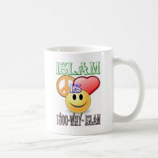 Islam ist Frieden u. Liebe u. Glück Kaffeetasse