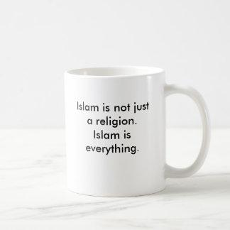 Islam ist nicht gerade eine Religion. Islam ist Kaffeetasse