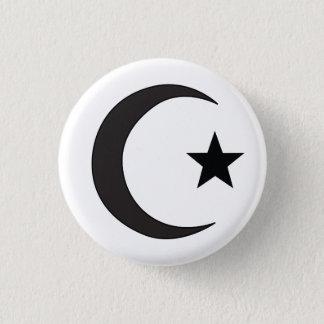 Islam-religiöses Symbol Runder Button 3,2 Cm