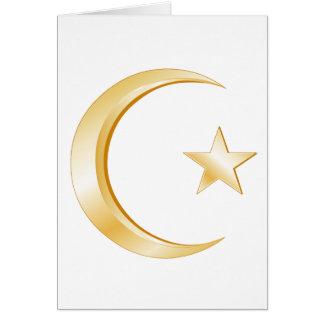 Islam-Symbol Karte