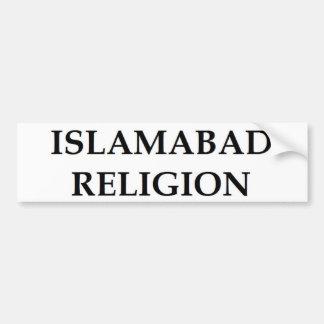 Islamabad-Religion Autoaufkleber