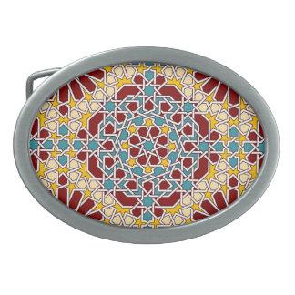 Islamische geometrische Muster Gürtelschnalle