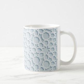 islamische inspirierte marokkanische geometrische kaffeetasse
