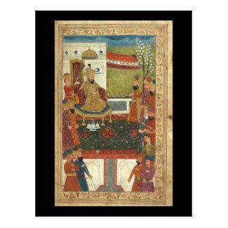 Islamische Kunst--Sehr alte Bilder des Islams Postkarte