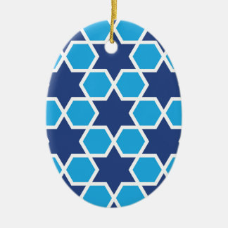 islamisches geometrisches Muster Keramik Ornament