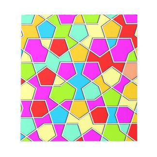 islamisches geometrisches Muster Notizblock
