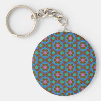 islamisches geometrisches Muster Schlüsselanhänger