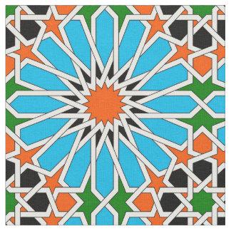 Islamisches geometrisches Muster Stoff