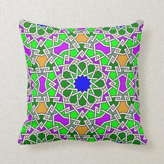 Islamisches geometrisches Musterkissen Kissen