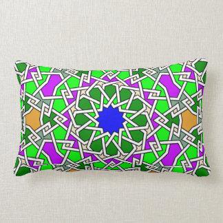 Islamisches geometrisches Musterkissen Lendenkissen