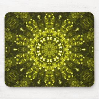Islamisches Kunstgrün geometrisch Mousepad