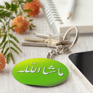 Islamisches MashAllah Schlüsselring keychain im Schlüsselanhänger