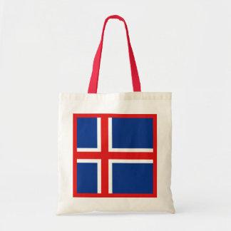 Island-Flaggen-Tasche Tragetasche