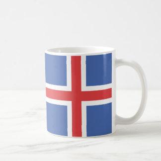 Island-Flaggen-Tasse