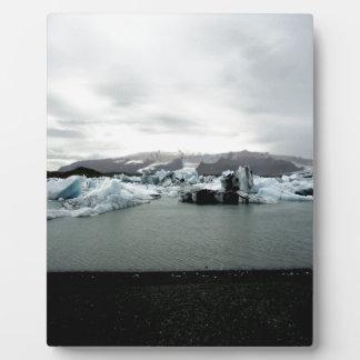 Island Fotoplatte
