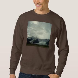 Island-Gletscher-Landschaft Sweatshirt