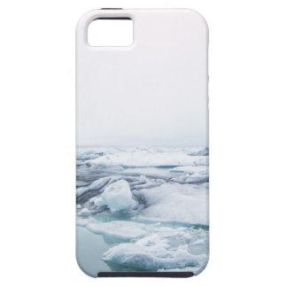 Island-Gletscher - Weiß Hülle Fürs iPhone 5
