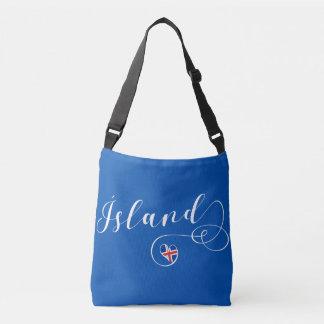 Ísland Island Herz-kundengerechte Tasche