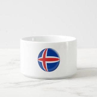 Island-Isländer-Flagge Schüssel